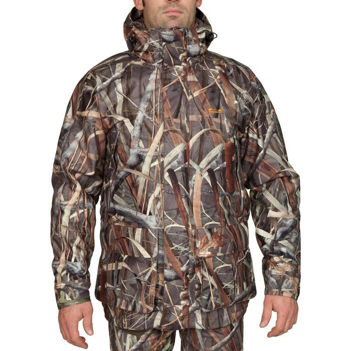 Veste chasse Sibir 300 camouflage marais - 474831