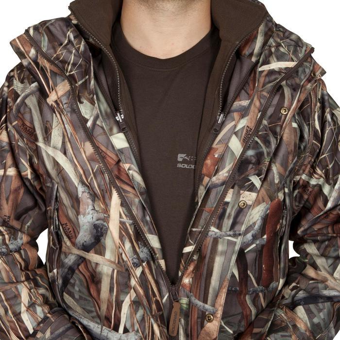 Veste chasse Sibir 300 camouflage marais - 474833