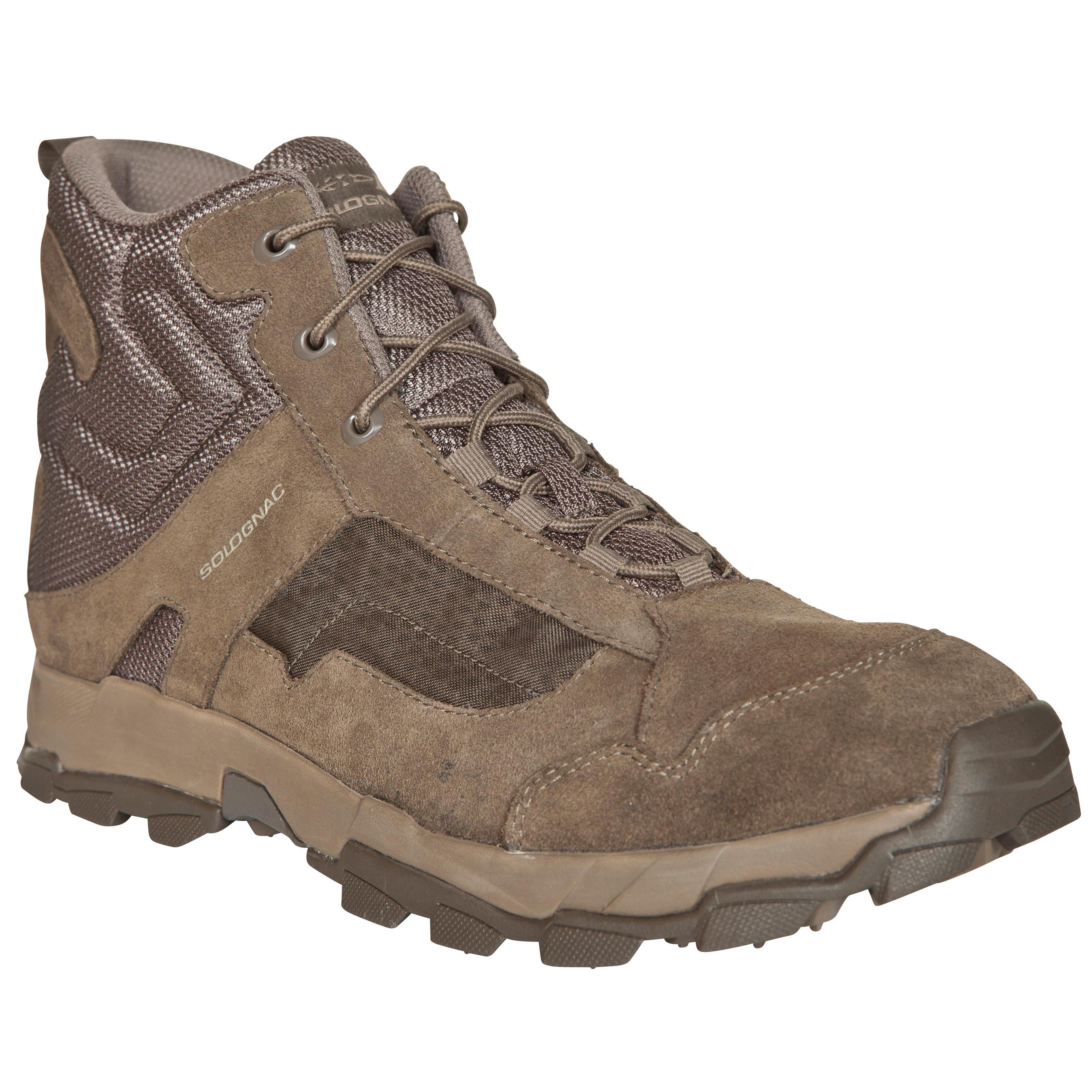 Jagdschuhe Sporthunt 300 beige   Schuhe > Outdoorschuhe > Trekkingschuhe   Solognac