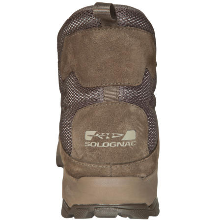 Hunting lightweight and hard-wearing boots Sporthunt 300 beige