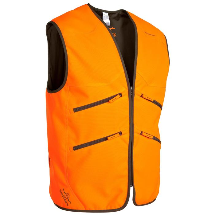 Gilet chasse Supertrack 500 fluo - 474897