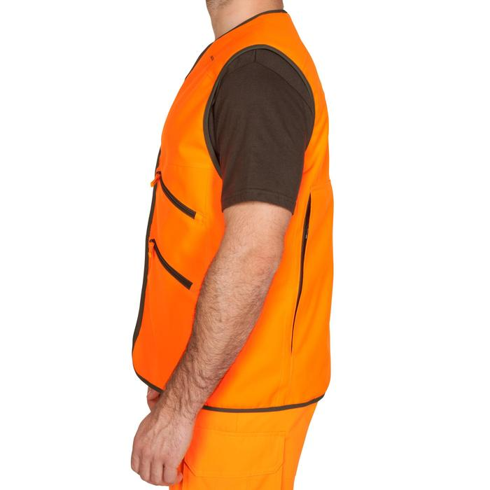 Gilet chasse Supertrack 500 fluo - 474900