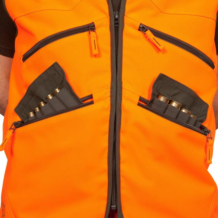 Gilet chasse Supertrack 500 fluo - 474908