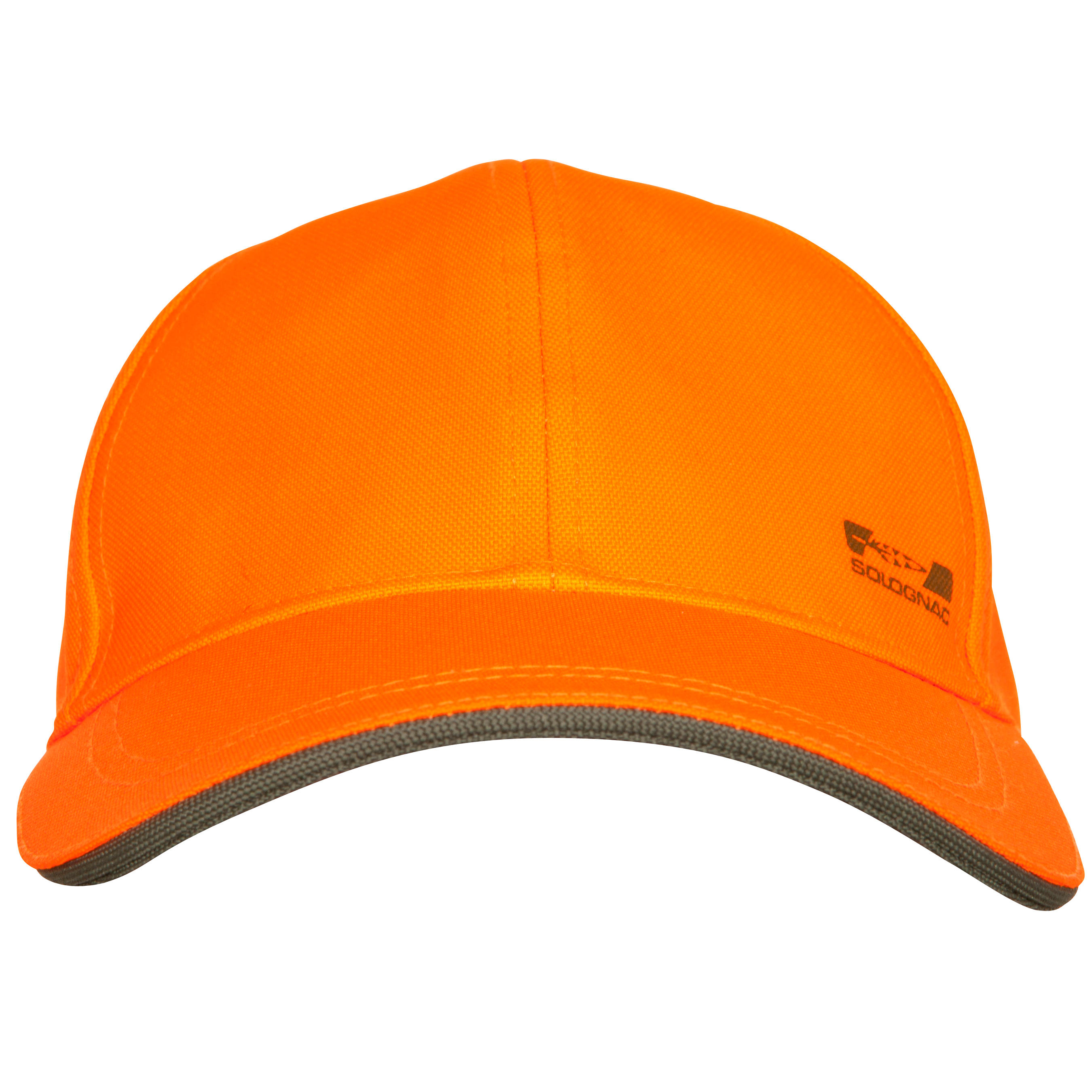 Casquette chasse Supertrack fluo