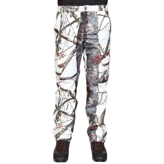 Jagd-Regenhose Posikam 300 Camouflage weiß