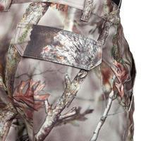 Штани Posikam 300 для полювання, водонепроникні - Коричневий камуфляж