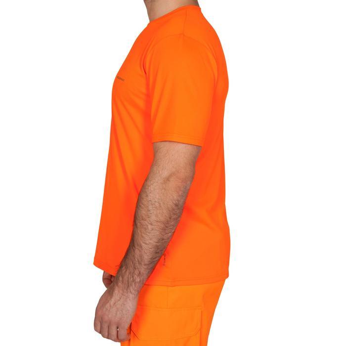 Ademend T-shirt voor de jacht 300 fluo-oranje