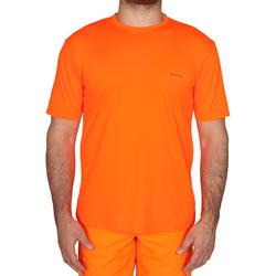 Ademend T-shirt voor de jacht 300 fluo