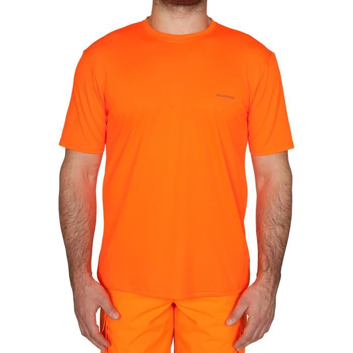 T-Shirt chasse Namib 300 fluo - 474935