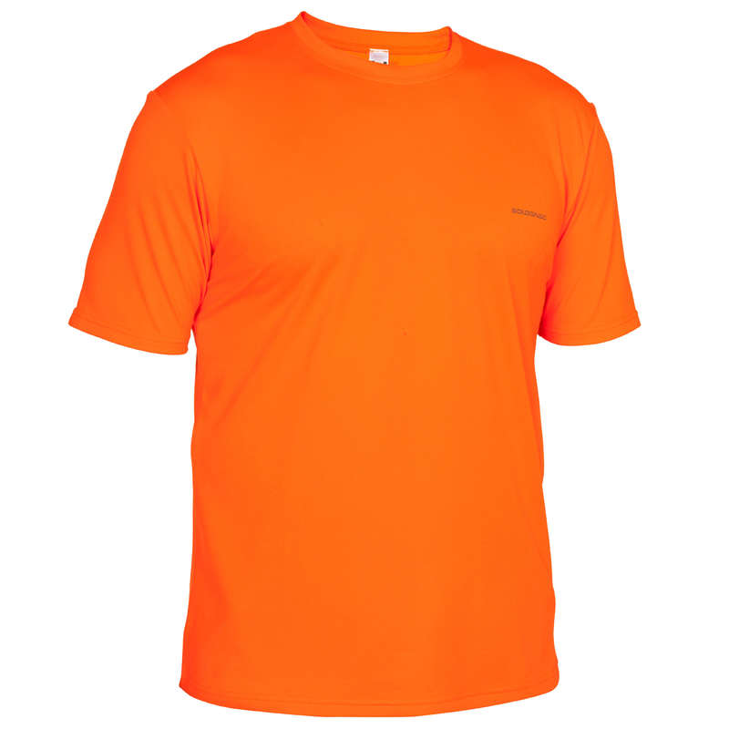 HIGH VIS DRIVEN/TRACK CLOTHING Clothing  Accessories - NAMIB 300 HUNTING T-SHIRT HIGH VISIBILITY SOLOGNAC - Clothing  Accessories