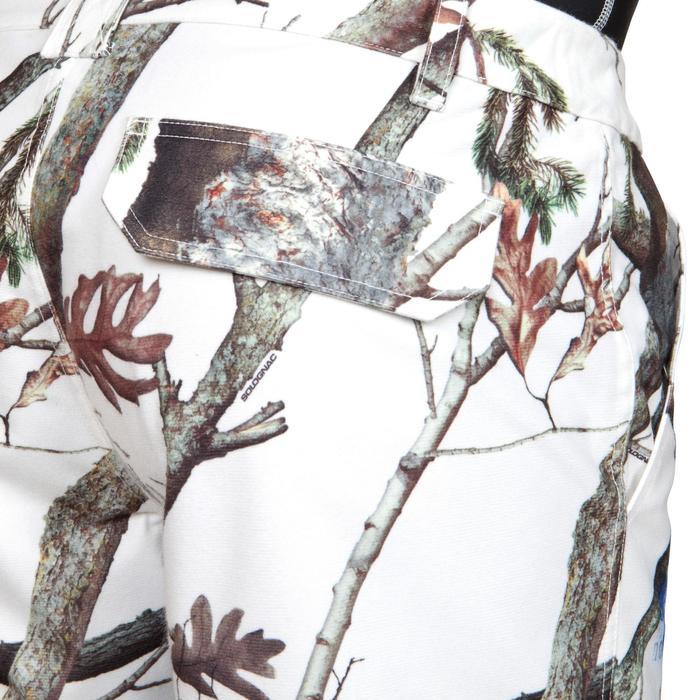 Jagdhose 520 wasserdicht camouflage weiß
