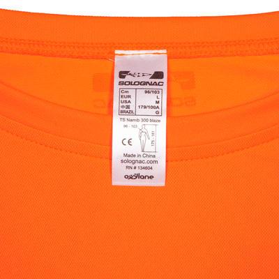Camiseta Solognac Namib 300 Naranja Fluo