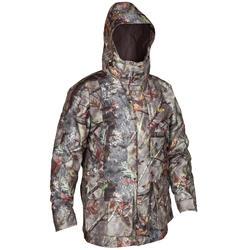 Warme en waterdichte 3-in-1 camouflagejas voor de jacht 300 bruin