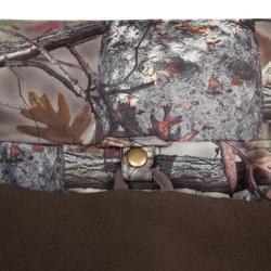 Chaqueta Caza Solognac Bgp 300 Impermeable Calida 3 en 1 Camuflaje Marrón