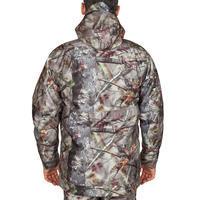 300 3-in-1 Warm Waterproof Hunting Jacket - Brown Camo