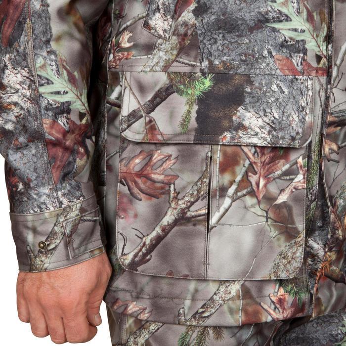 Jagd-Regenjacke Posikam 300 Camouflage braun