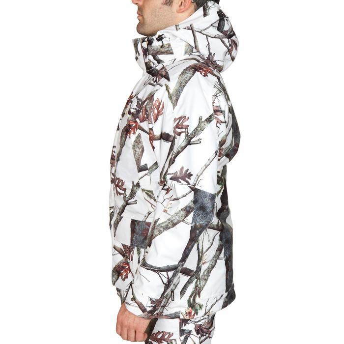 Waterdichte jagersjas Posikam 300 camouflage sneeuw