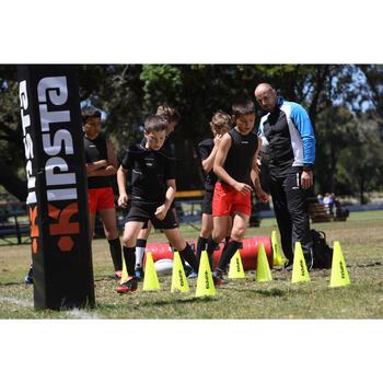 Crampons rugby enfant terrains secs Attraction 300 FG scratch noir jaune - 475407