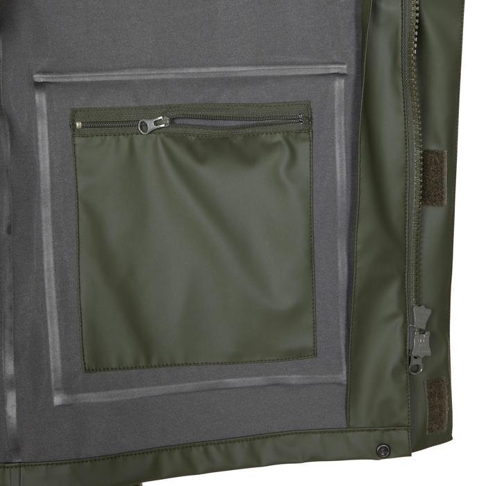 Chaqueta Caza Solognac 300 Impermeable Verde