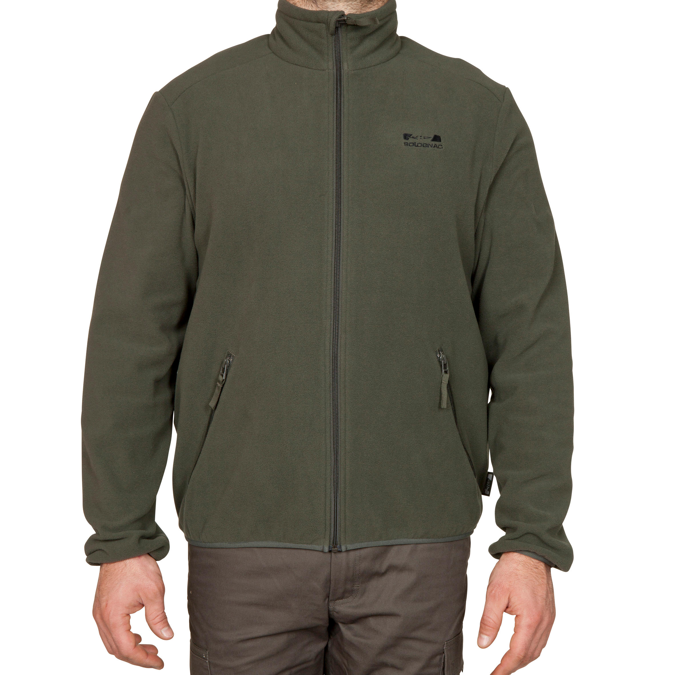Mens Fleece 100 Green