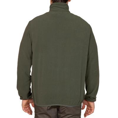 Chaqueta fleece de caza Taïga 100 verde
