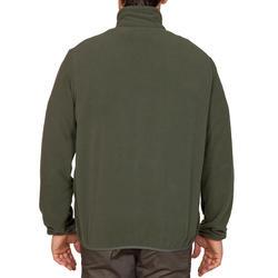 Veste de chasse en molleton 100 verte
