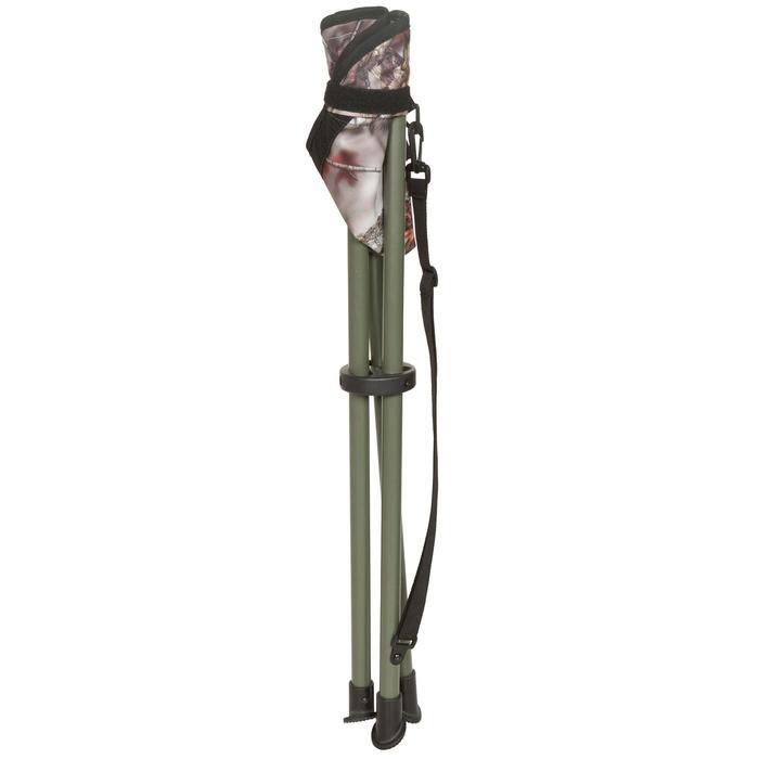 Trépied chasse camouflage marron - 475743