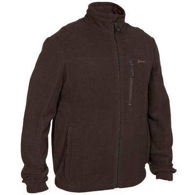 Куртка 300 для полювання, флісова - Коричнева