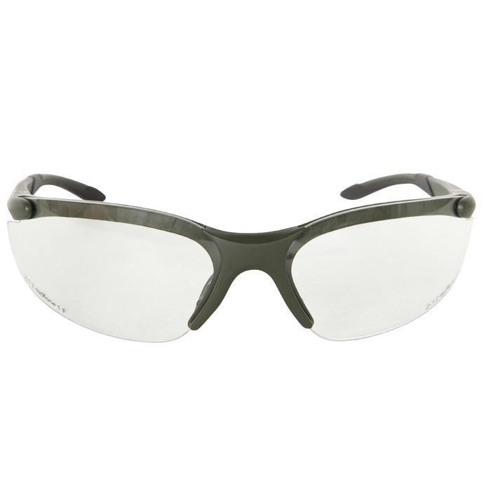 Gafas Caza Solognac Protección Impactos Cristal Neutro