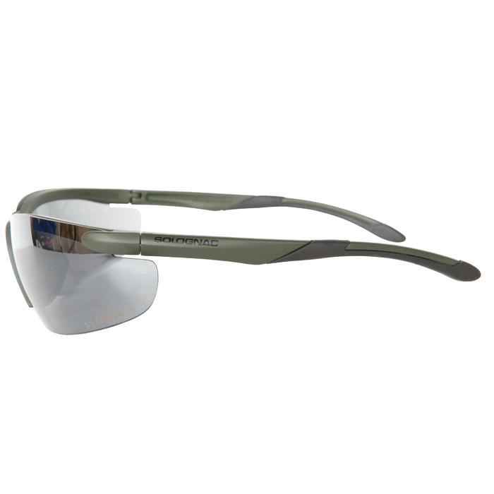 Gafas Caza Solognac Protección Antigolpes Cristal Protección Solar Verde