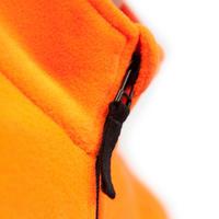 Polaire chasse 100 junior orange