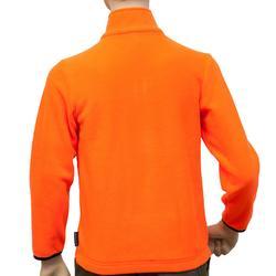 Kinderfleece voor de jacht 100 oranje