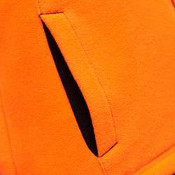 Forro polar de caza 100 júnior naranja