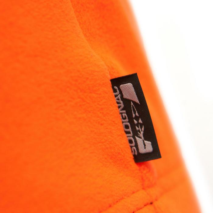 Jagd-Fleecejacke 100 Kinder orange