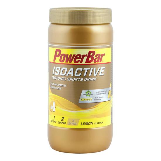 Poeder voor isotone dorstlesser ISOACTIVE citroen 600 g - 476556