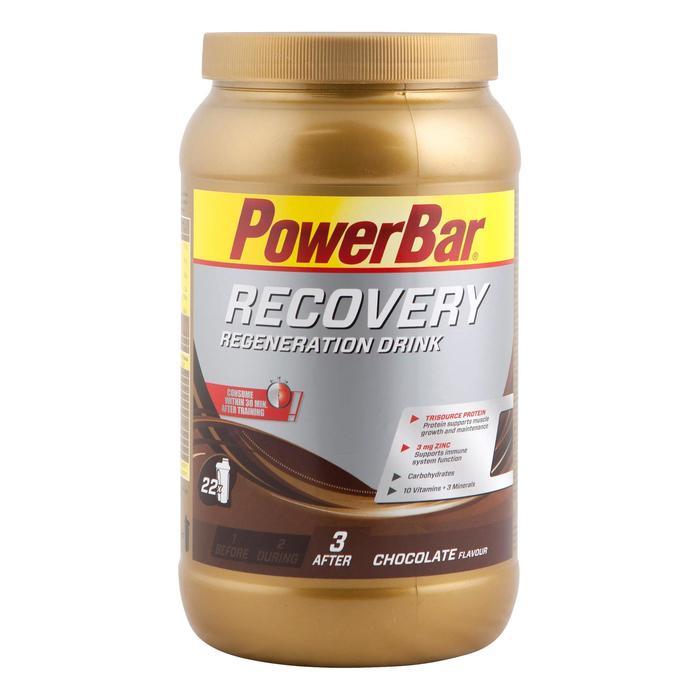 Poederbereiding voor recuperatiedrank Recovery chocolade 1,2 kg