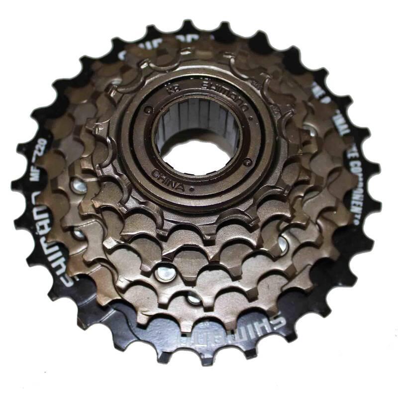 Převody Cyklistika - VOLNOBĚŽKA 7 R 14 × 28 TZ21 SHIMANO - Náhradní díly a údržba kola