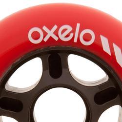 4 ruedas rollers hockey 80 mm 80A