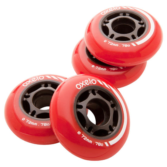 4 wielen inlinehockey 76MM 80A - 476932