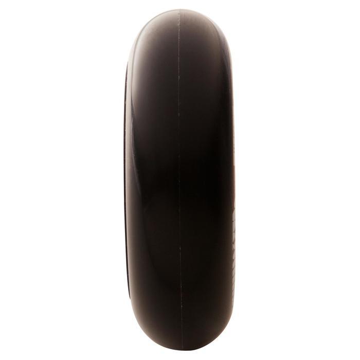 4 wielen voor freeride skeelers Concrete 80 mm 84A zwart of wit