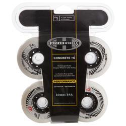 Wielen Skates Concrete 80mm/84 A 4x - 476944