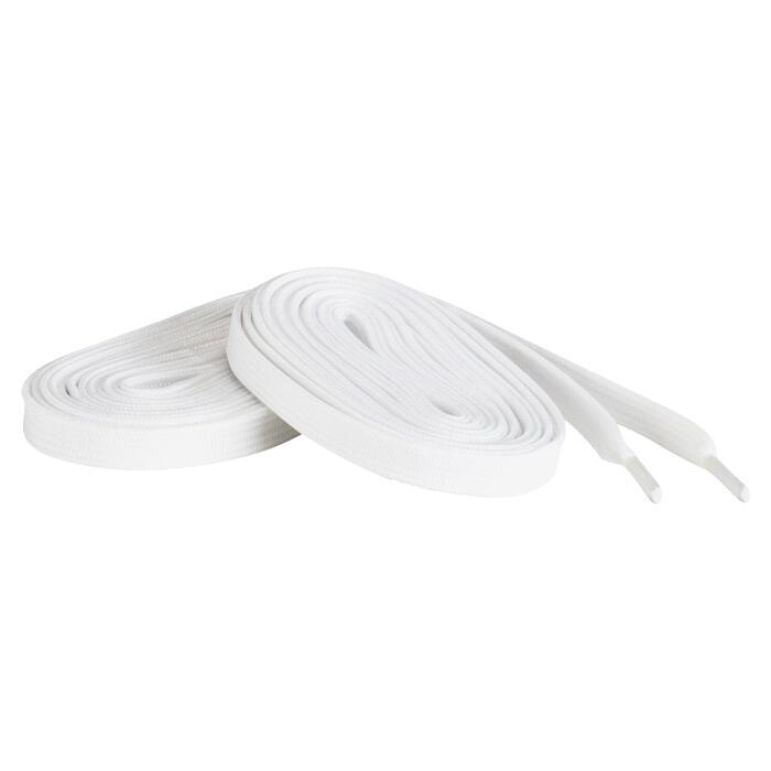 Witte veters voor kunstschaatsen
