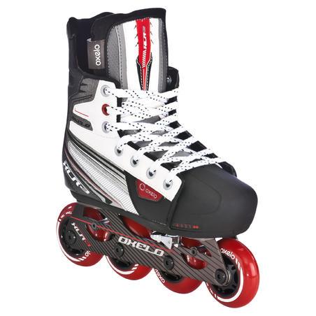 XLR 3 Adjustable Junior Roller Hockey Skate - Light Grey