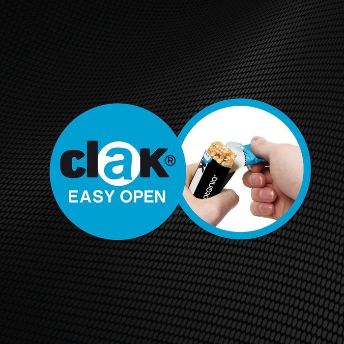 Barre de céréales salé CLAK cacahuète 6x21g - 478405