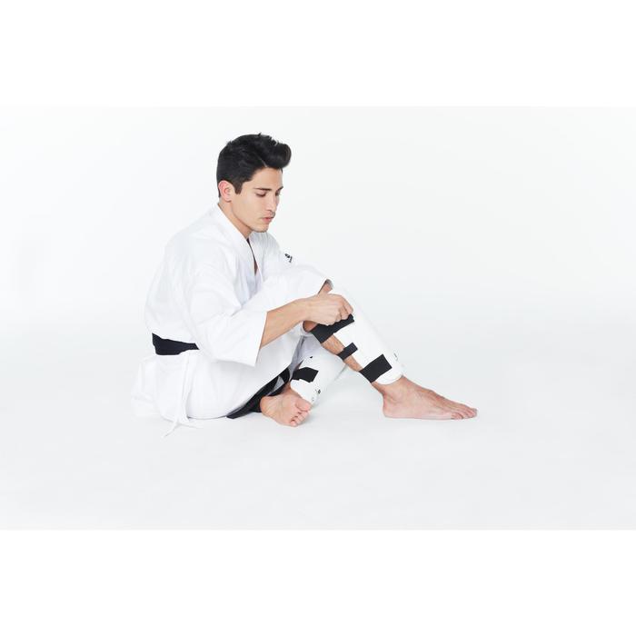 Scheenbeschermer voor boksen of martial arts wit
