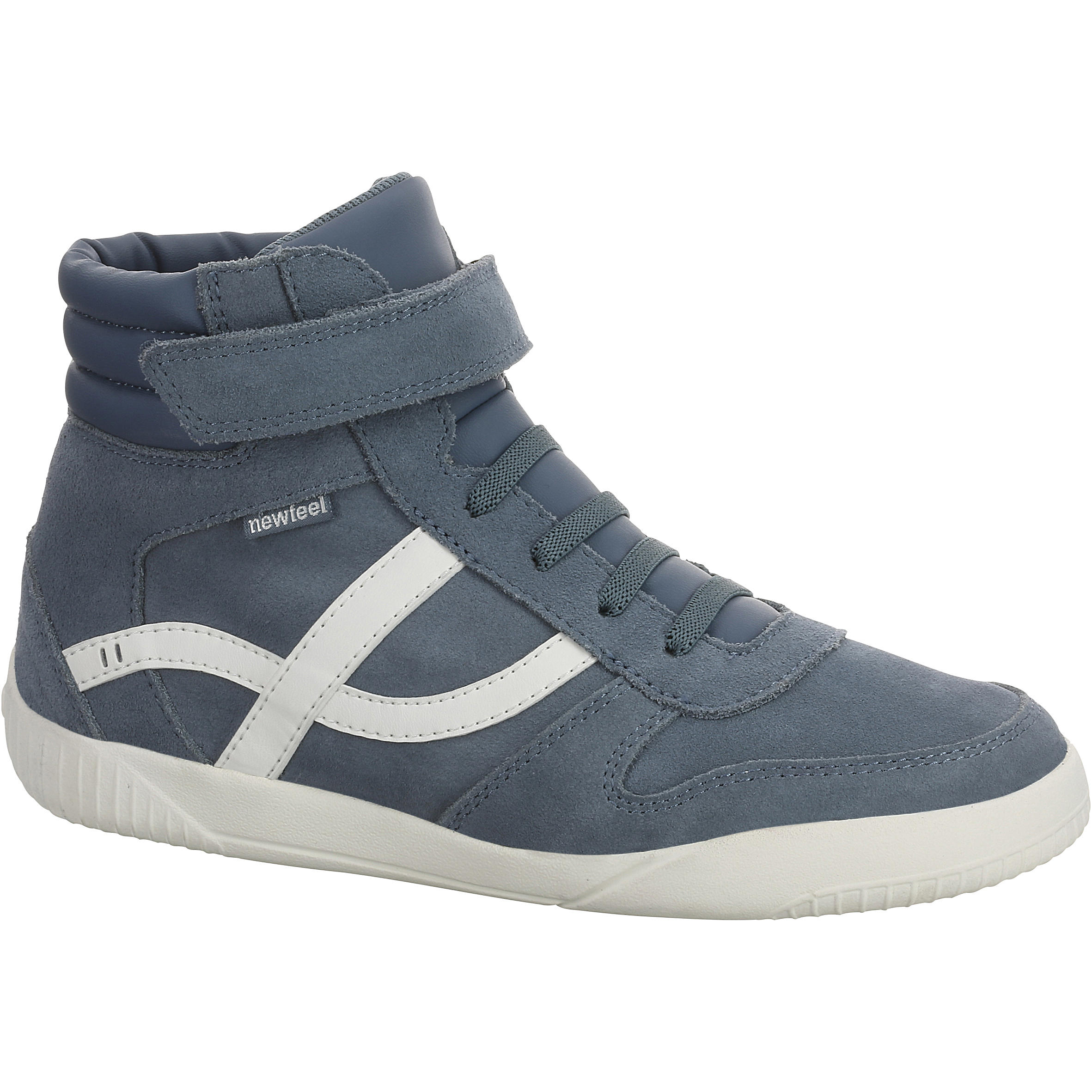 db4e69eed91d Marche Enfant Blanc Chaussures Mid Jeans Jarry Cuir FJclK3T1