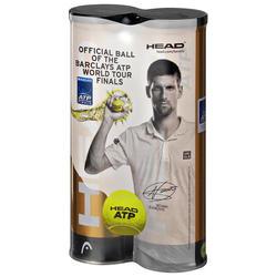 Tennisbälle Bipack ATP 2 Dosen mit jeweils 4 Bällen gelb