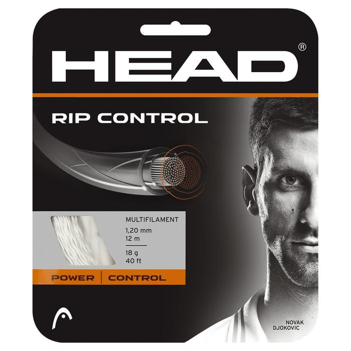 CORDAGE DE TENNIS MULTIFILAMENTS RIP CONTROL 1.30mm NATUREL