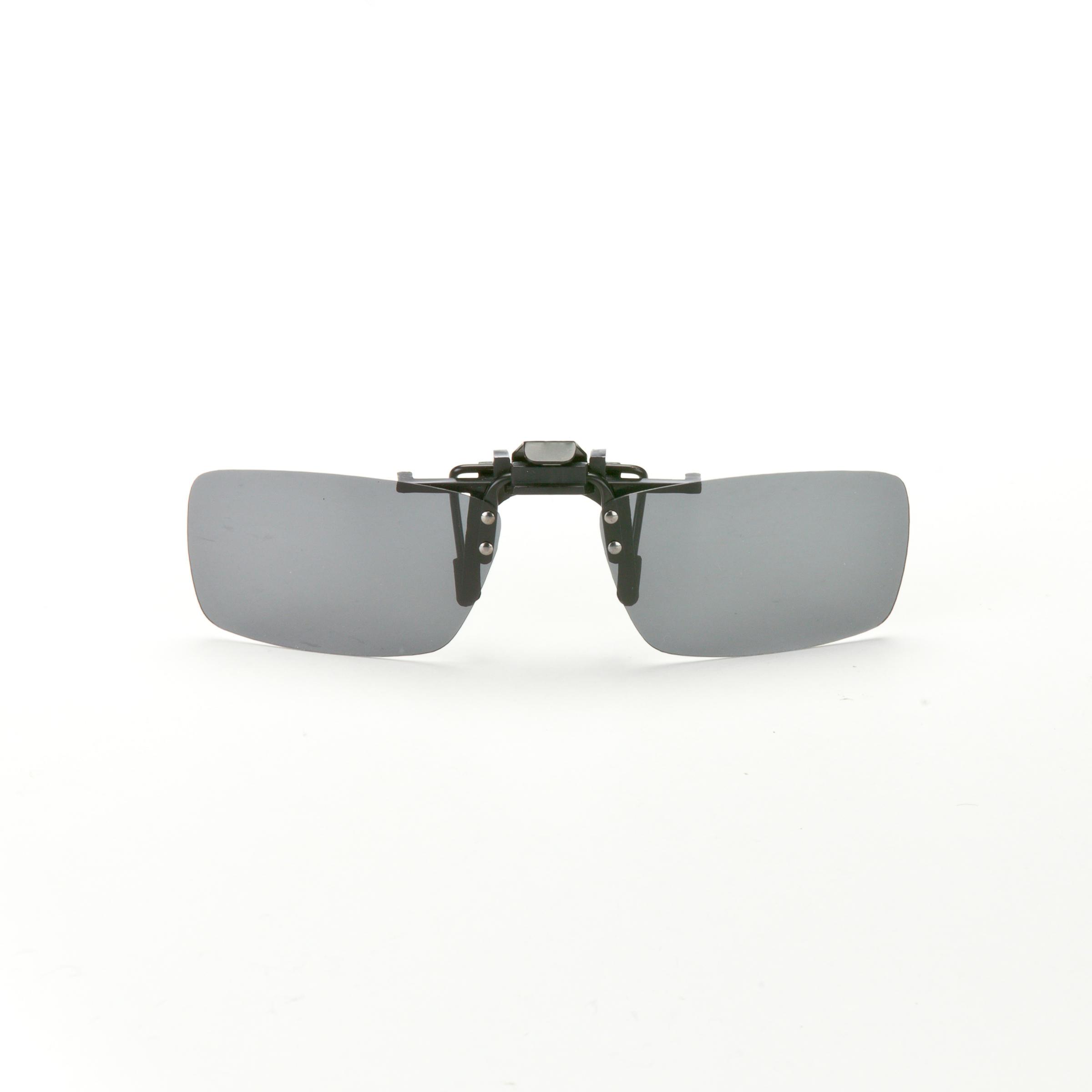 Aufsteckbrille für Korrekturbrillen MH 120 OTG Small polarisierend Kategorie 3 | Uhren > Keramikuhren | Grau | Quechua