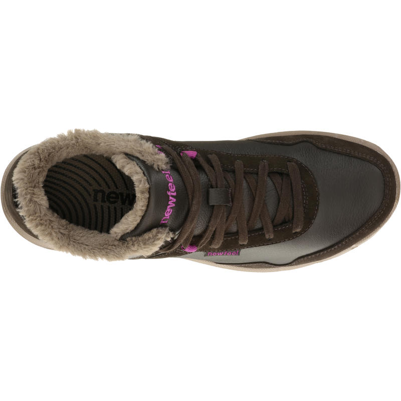 Ladylight women's everyday walking shoes - brown